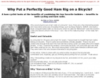 Ham Rig on a Bicycle?