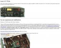 Icom IC-751A modifications