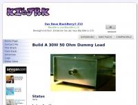 Build A 30W 50 Ohm Dummy Load