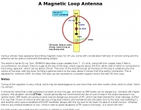 GM3MXN  Magnetic Loop Antenna