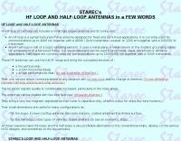 HF loops vs Half Loops