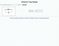 Antenna Trap Calculator