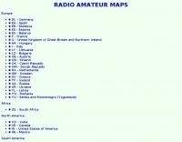 Radio Amateur Maps