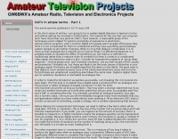 Digital ATV in simple terms