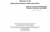 Blossomland Amateur Radio Association