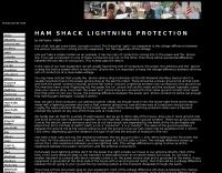 Ham Shack lightning protection