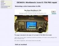 Icom IC-756 PRO Repair