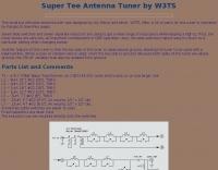 Super Tee Antenna Tuner