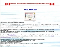 Canadian Provinces Lighthouse Award