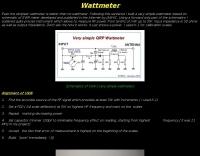 Very simple wattmet
