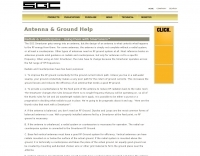 Antenna & Ground Help