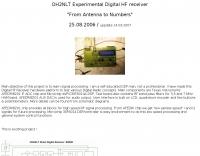 OH2NLT Experimental Digital HF Receiver