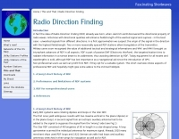 Radio Direction Finding - introduction