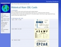 Historical QSL Cards
