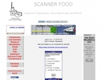 Scanner Food - Scanner Frequencies