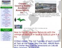 W8CDZ Copper Country Radio Amateur Association, Inc.