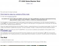 FT-1000 Noise Blanker Mod
