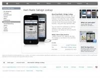 iPhone Ham Radio Callsign Lookup