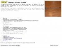 Sidemount VHF/UHF Antenna