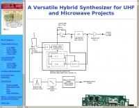 Hybrid Synthesizer for UHF and microwave