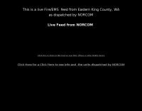Eastern King County Washington Live Feed