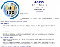ARISS School contacts FAQ