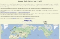 Ham Radio Stations heard via ISS