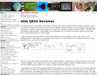30m QRSS Receiver