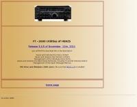 FT-2000 Menu and Memory Saver