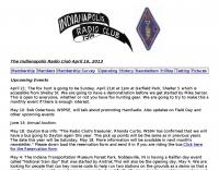 W9JP Indianapolis Amateur Radio Club