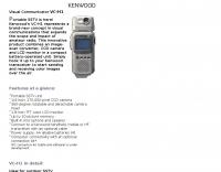 VC-H1 Visual Communicator