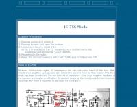 KB2LJJ IC-756 Mods