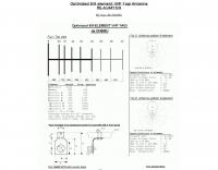 6/9 element VHF Yagi antenna