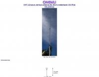 Ground Plane antenna for 50 Mhz