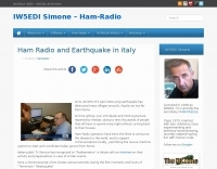 Ham Radio and Heartquake in italy