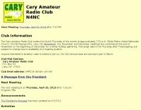 N4NC Cary Amateur Radio Club