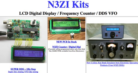 LCD Digital Dial DDS VFO