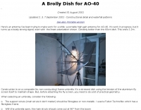 A Brolly Dish for AO-40