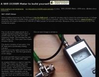 Wifi VSWR Meter