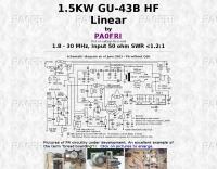 1.5KW GU-43B HF Linear