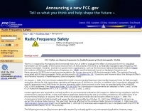 FCC OET -- Radio Frequency Safety