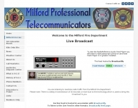 Milford CT Fire department Live