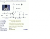 50 MHz VHF power amplifier