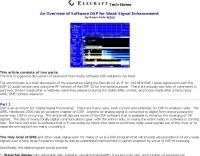 Software DSP for Weak Signal Enhancement