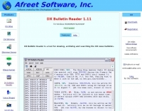 DX Bulletin Reader - Software