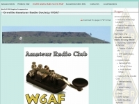 W6AF Oroville Amateur Radio Society