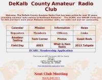 W4GBR DeKalb County Amateur Radio Club