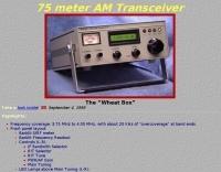 75 meter AM Transceiver