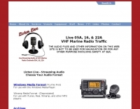 Marine VHF Radio Live Streaming Audio