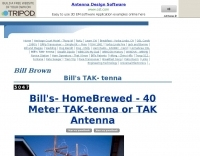 40 Meter TAK- tenna home made